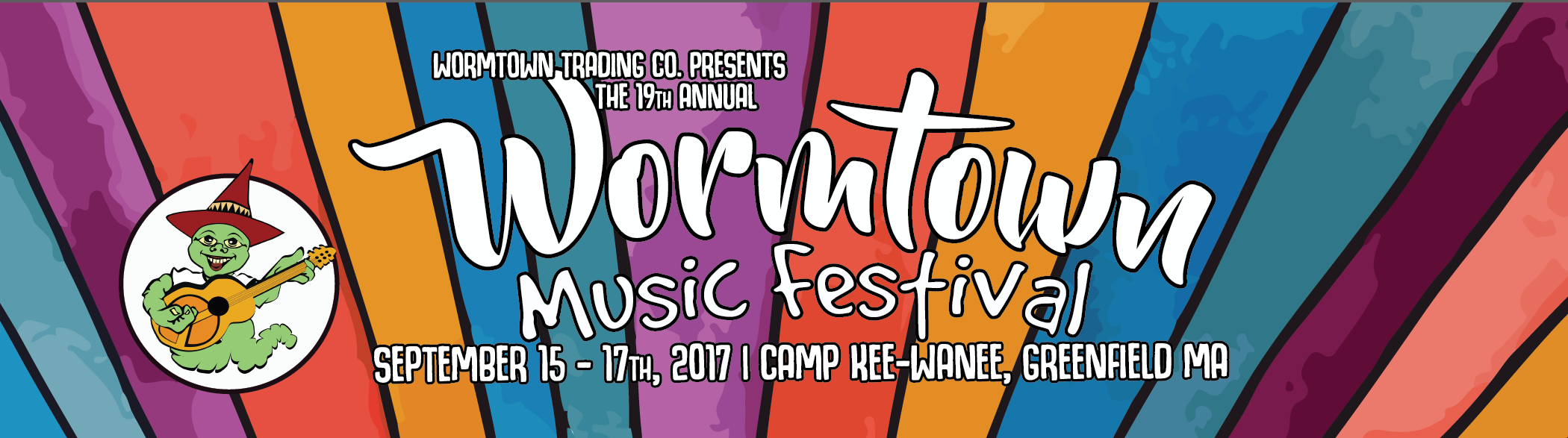 2017 Lineup Wormtown Music Festival